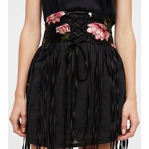 FREE PEOPLE ENDLESS ROSE  MAXI CORSET NEW 🌹🌹